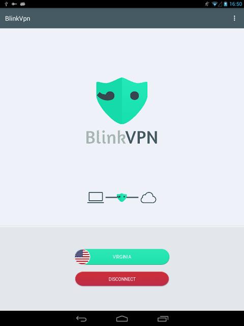 Android Blink VPN Screen 1