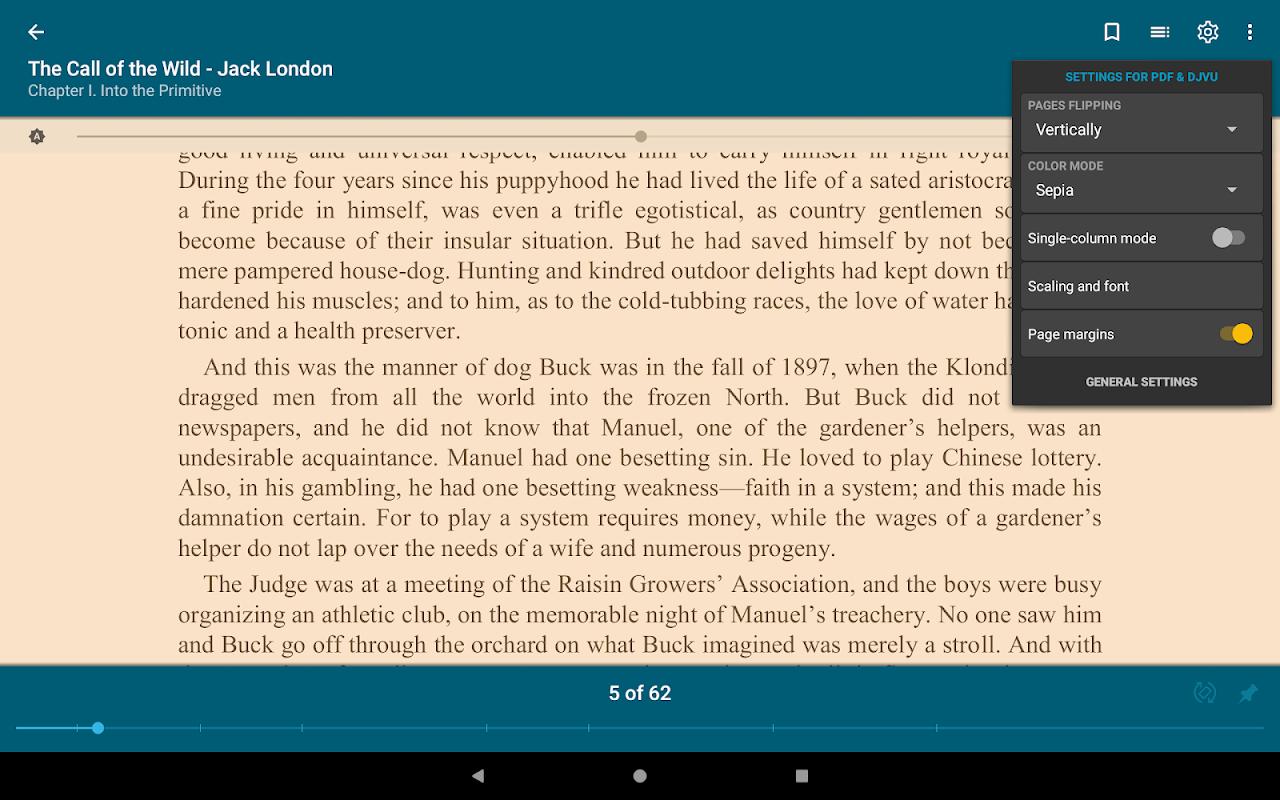 ReadEra - epub, pdf, docx ebook reader 19.01.10+730 Screen 14