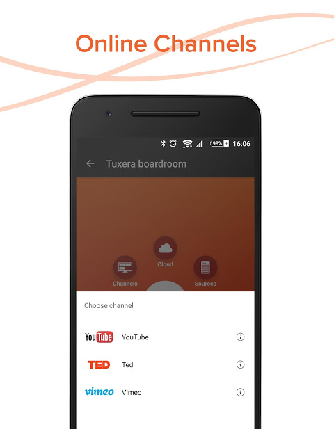 Android AllConnect - Play & Stream Screen 2