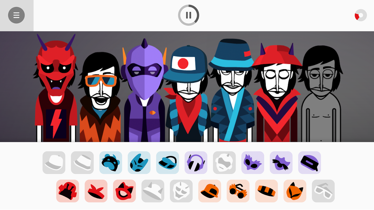 Android Incredibox Screen 1