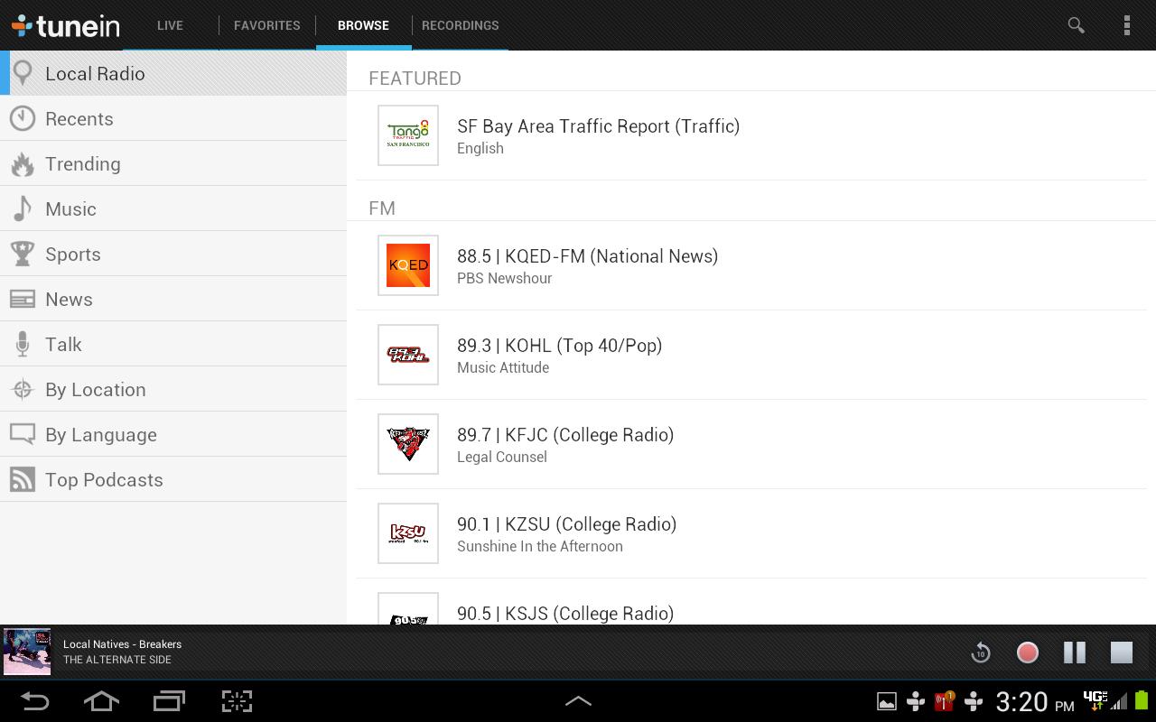 download tunein radio pro 11.3 apk