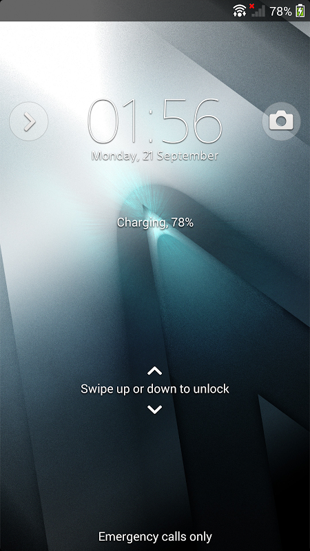 Android Xperia™ theme - Reality Screen 3