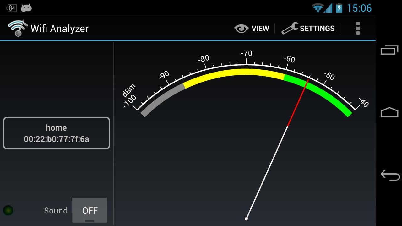 Wifi Analyzer 3.1.2 Screen 3