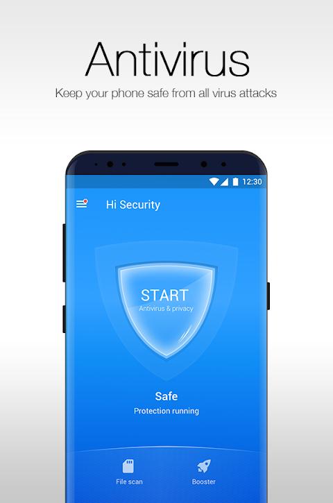 Hi Security - Antivirus, Booster, WiFi & App Lock 2.9.8.838 Screen 1