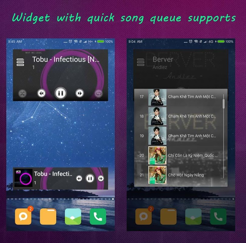 Android S+ Music Player 3D - Premium Screen 4