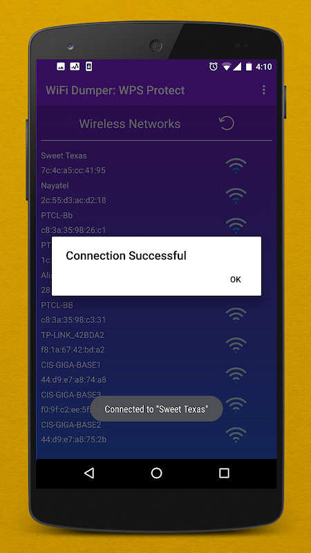WPS WiFi Dumper PRO : WPS Routers ( WPS Connect ) 1.0.2 Screen 5