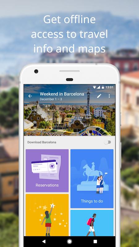 Google Trips - Travel Planner 1.11.0.208783295 Screen 1
