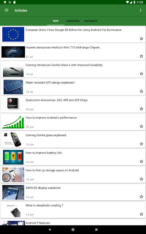 CPU X : Device & System info 2.8.1 Screen 3