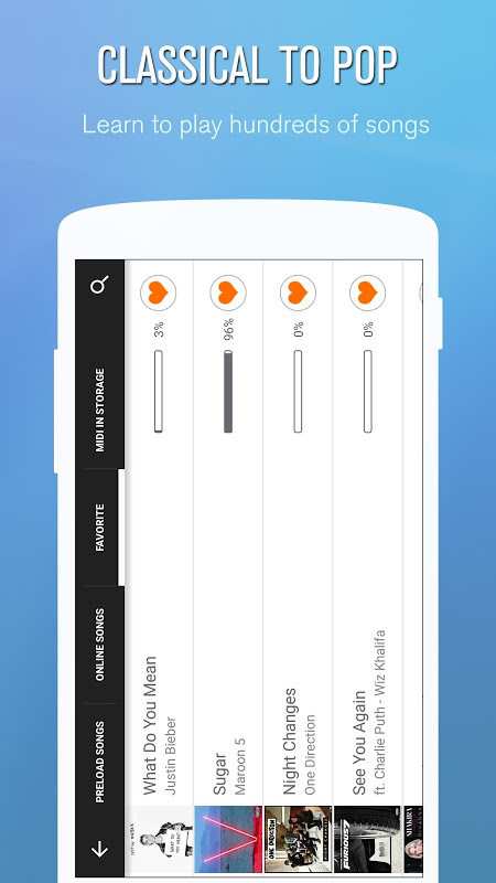 Android Perfect Piano Screen 2