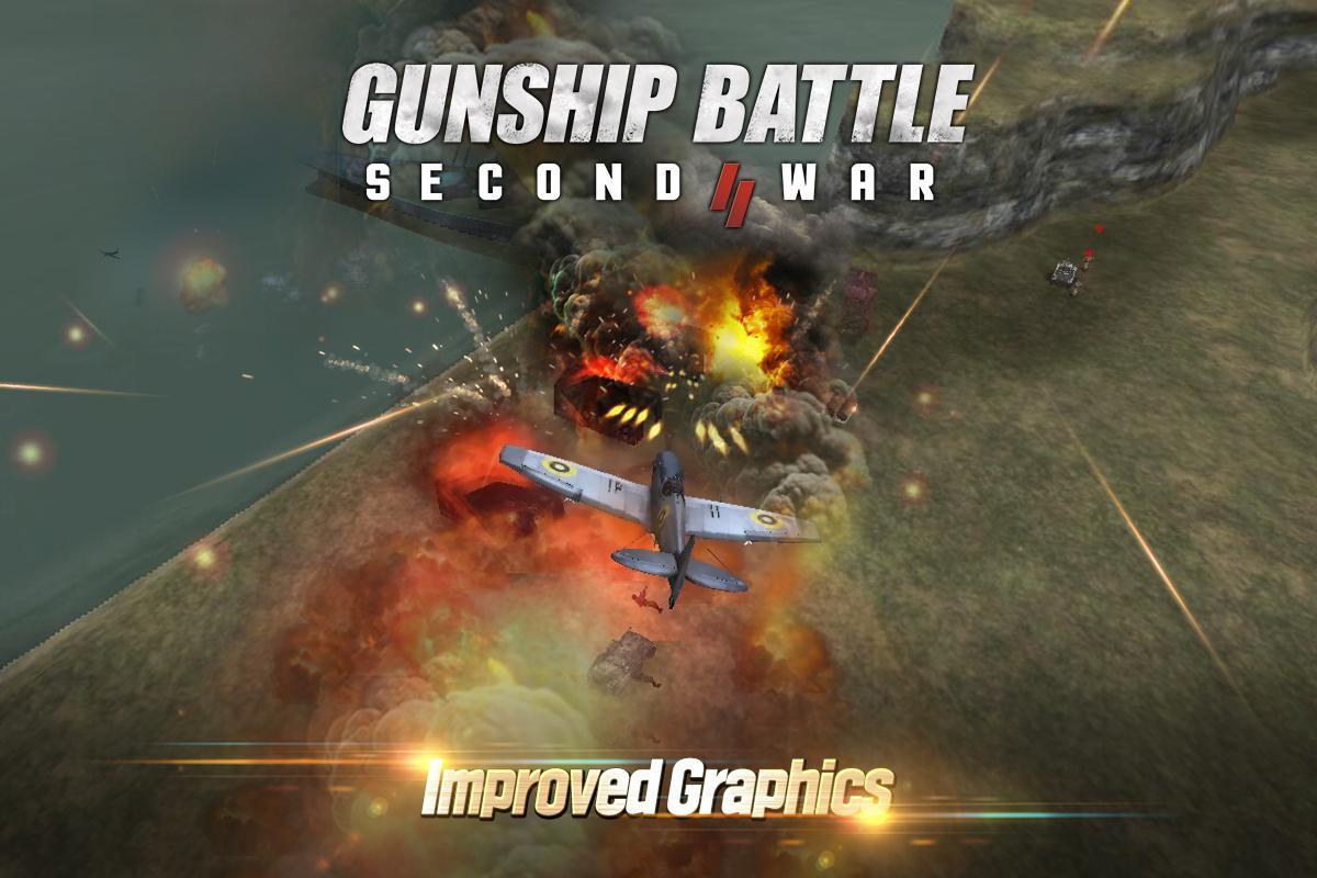 GUNSHIP BATTLE: SECOND WAR 1.11.01 Screen 1