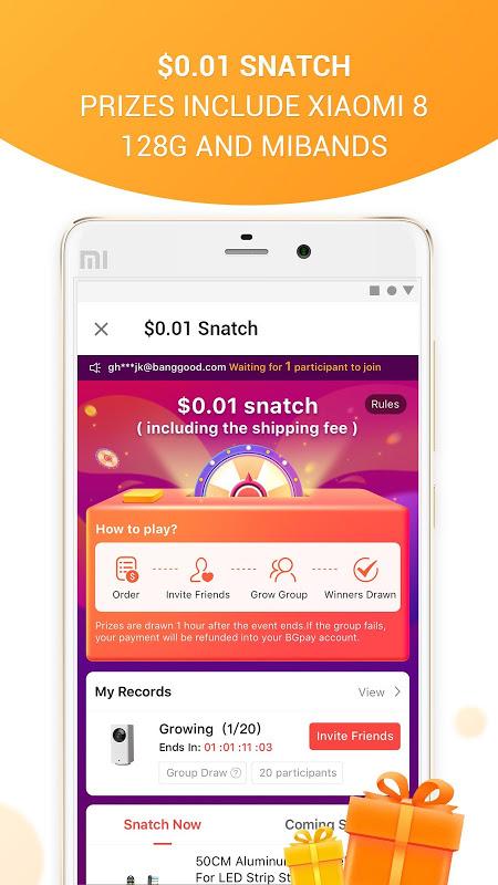 Banggood - Easy Online Shopping 6.12.1 Screen 2