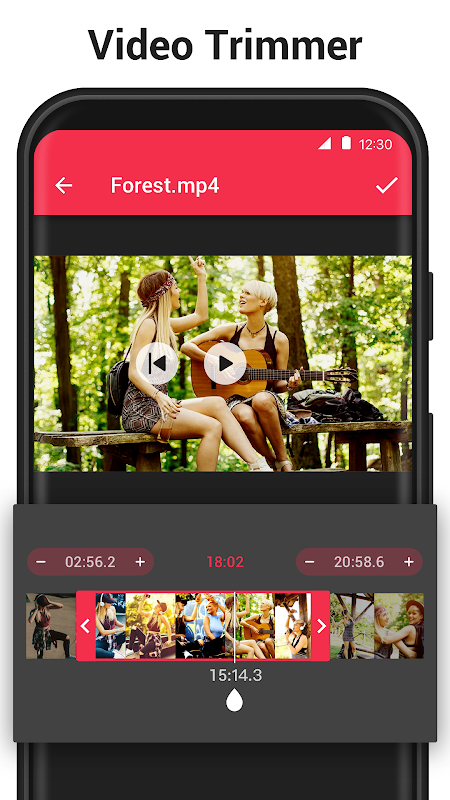 Video to MP3 Converter - mp3 cutter and merger 1.5.2 Screen 1