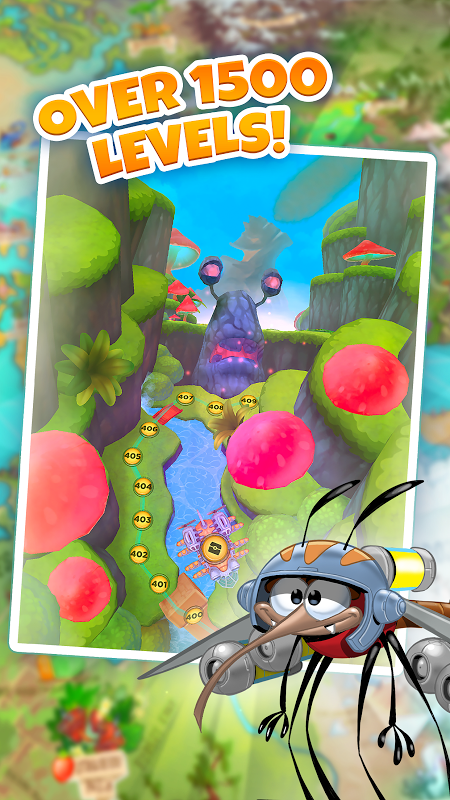 Android Best Fiends - Puzzle Adventure Screen 16