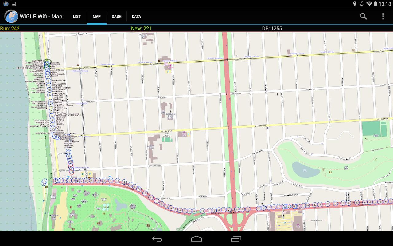 WiGLE WiFi Wardriving 2.39 Screen 10