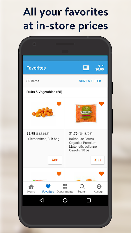 Walmart Grocery 6.9.0 Screen 5