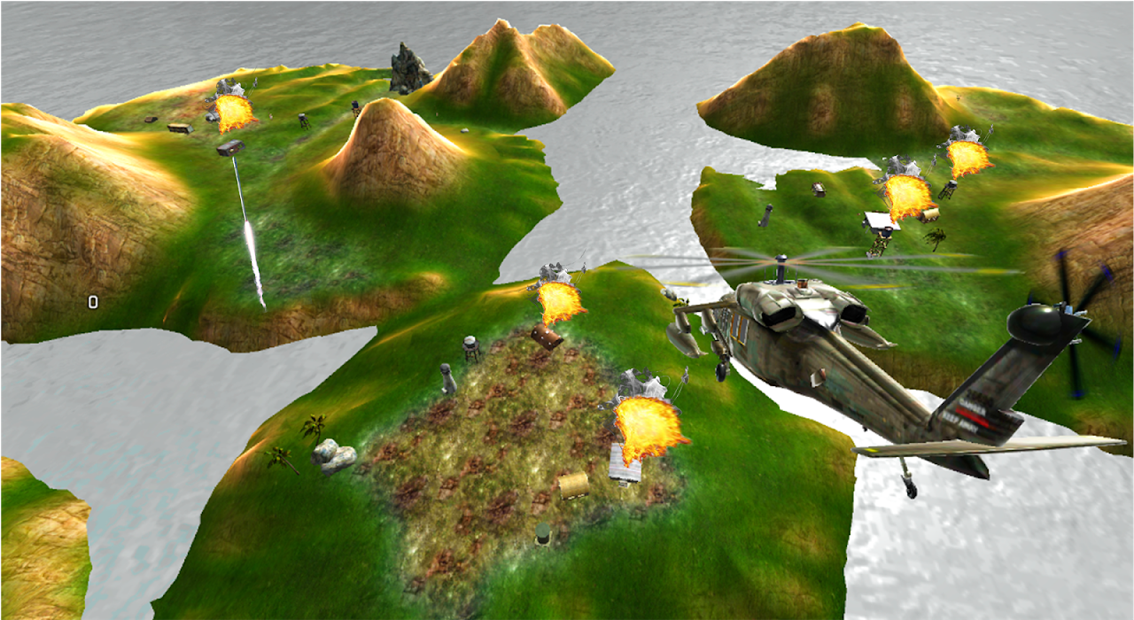 Heavy Gunship Helicopter War🚁 1.3 Screen 4