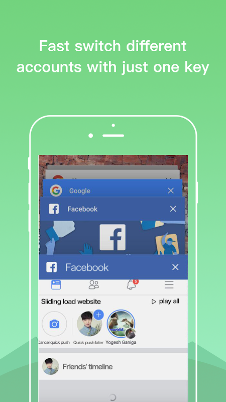 Dual Space - Multiple Accounts & App Cloner 3.0.5 Screen 2