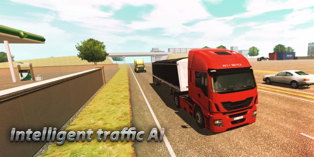 Android Truck Simulator : Europe Screen 1