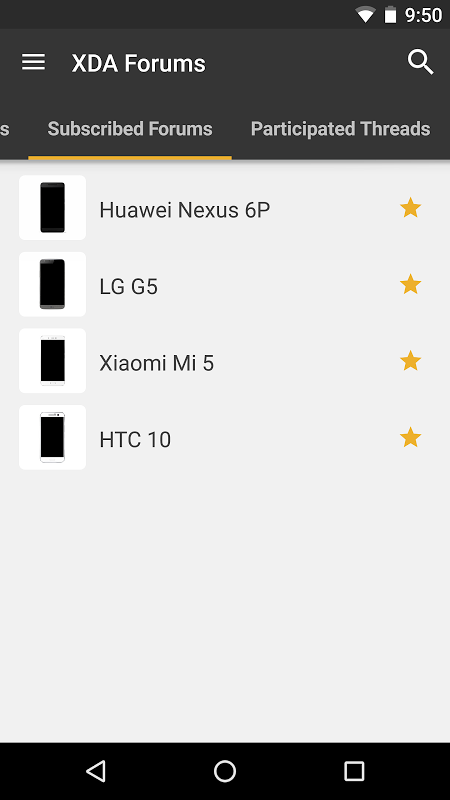 Android XDA Screen 2