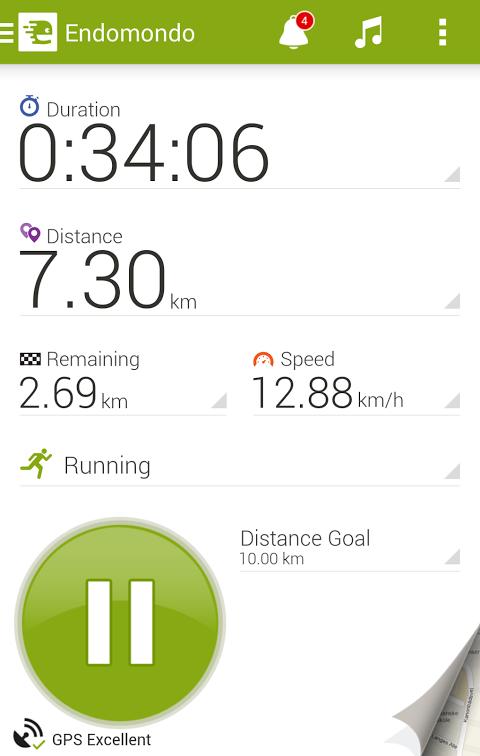 Android Endomondo Sports Tracker PRO Screen 16