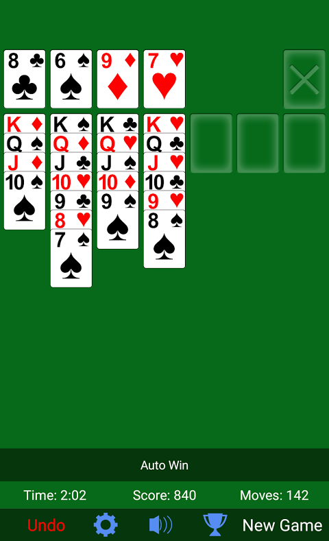 Solitaire 3.3.3 Screen 3