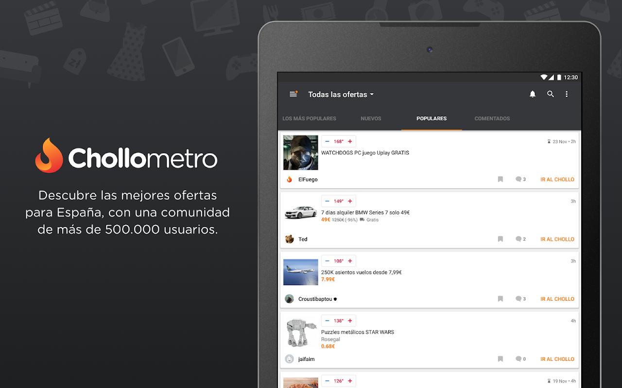 Chollometro – Chollos, ofertas y juegos gratis 5.7.07 Screen 12