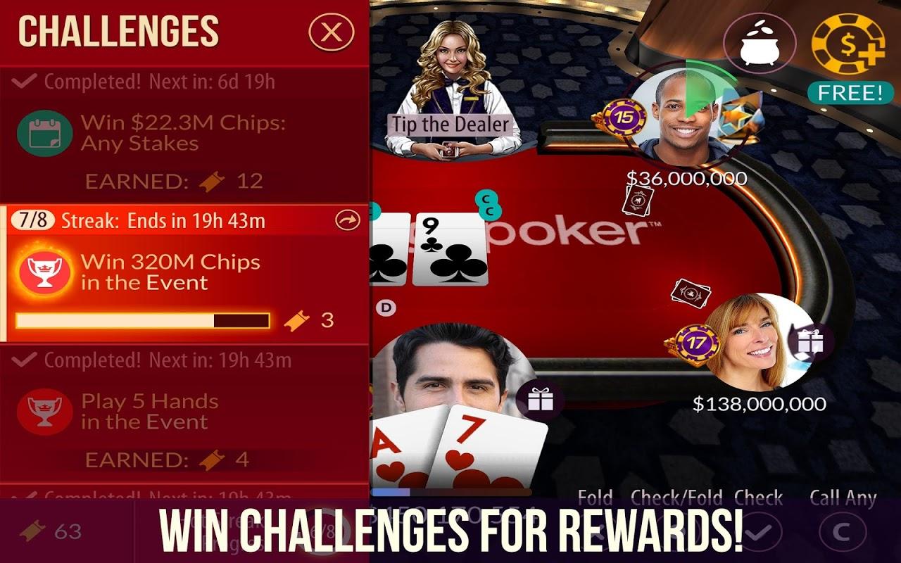 Zynga Poker – Texas Holdem 21.64 Screen 2