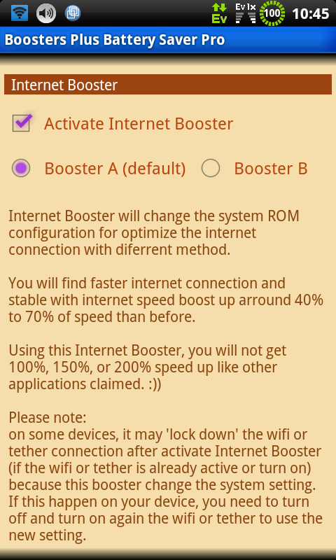 BOOSTERS PLUS BATTERYSAVER PRO 3 6 5 APK Download by Gejos