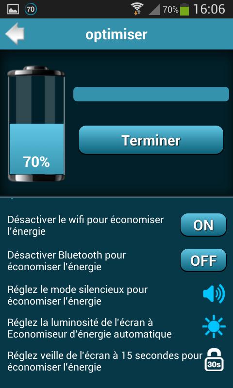 Battery Saver Pro 1.0 Screen 6