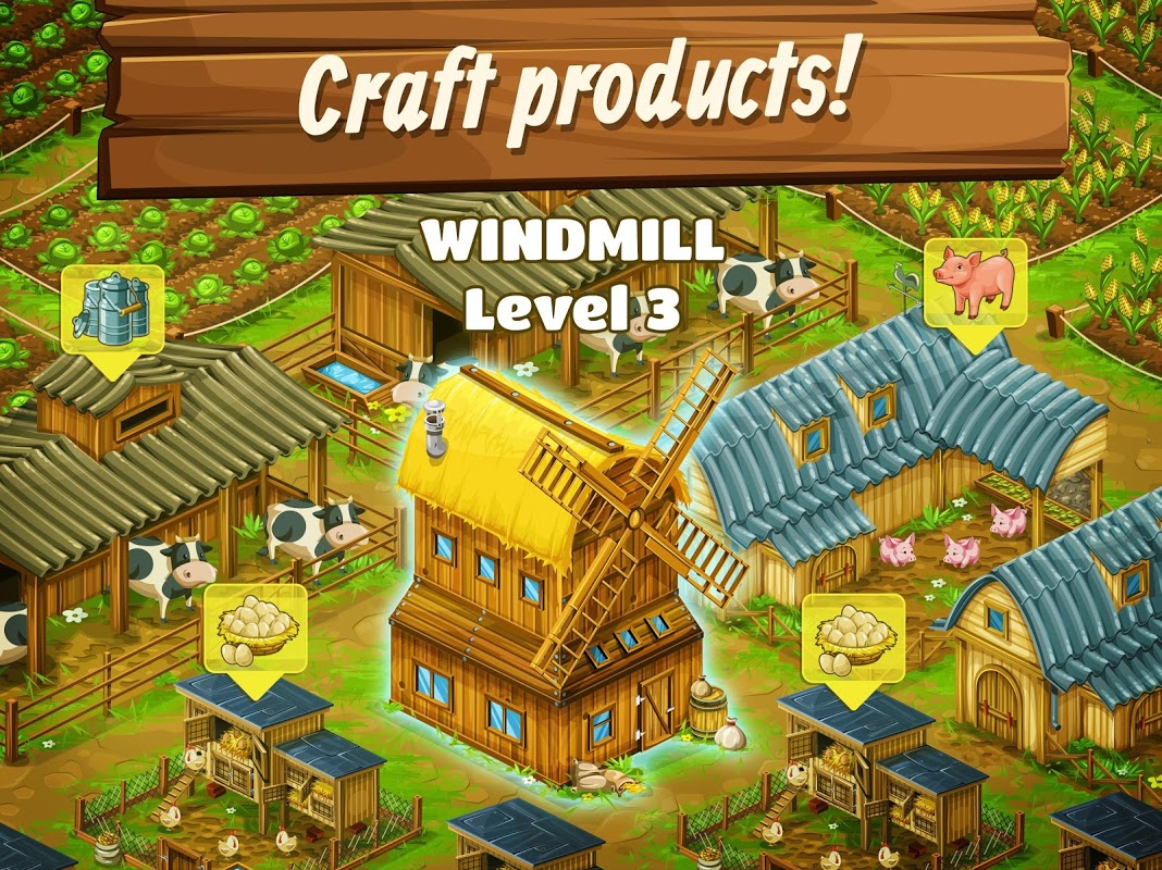 Coupons dans big farm mobile harvest