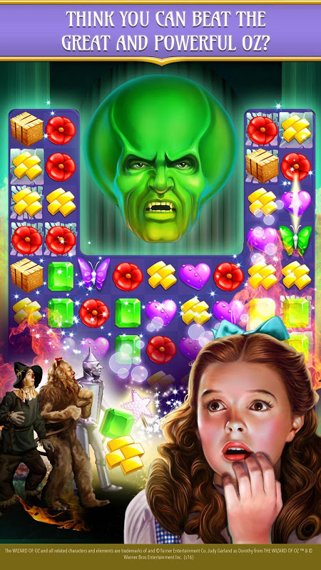 Android The Wizard of Oz Magic Match 3 Screen 11