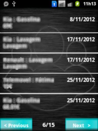 Life Log Lite 4.05 Screen 3