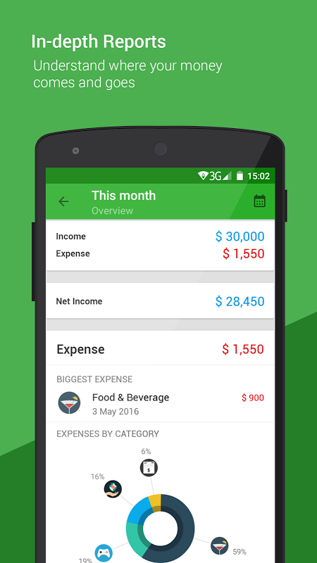 Android Money Lover - Money Manager Screen 2