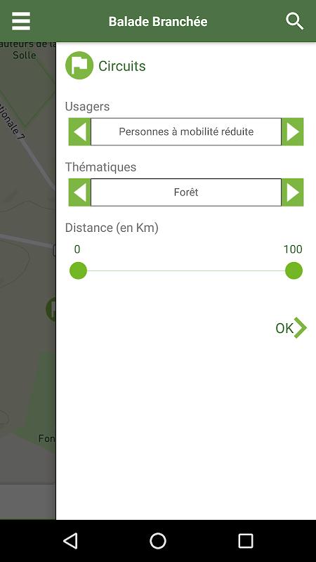 Android Balade Branchée Screen 1
