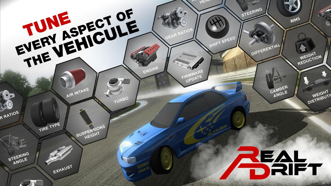 Android Real Drift Car Racing Screen 4