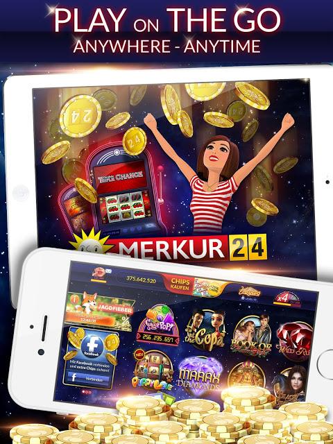 Android MERKUR24 – Online Casino & Slot Machines Screen 10