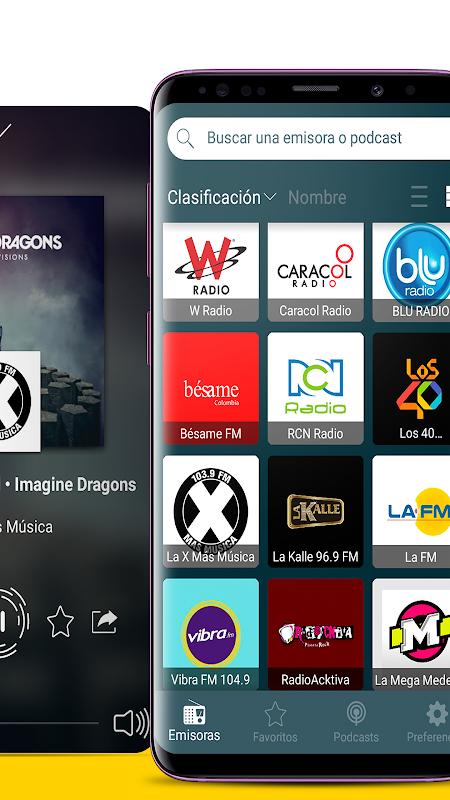 Android Radio Colombia | Radio Internet + Radio FM Screen 1