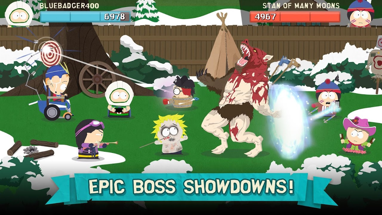 Android South Park: Phone Destroyer™ Screen 5