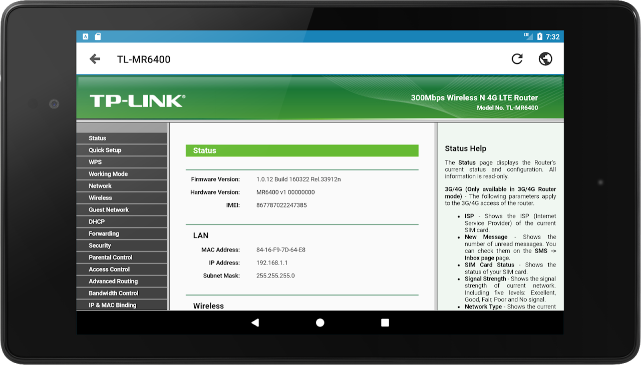 Android IP Tools: WiFi Analyzer Screen 8