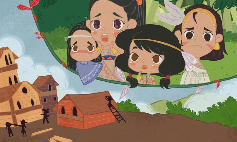 Android La historia de la Pocahontas Screen 2