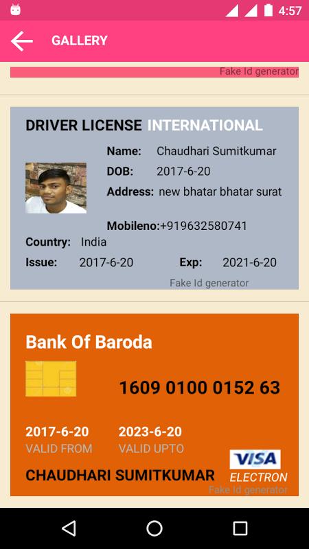 Fake aadhar Card ID Generator APKs | Android APK