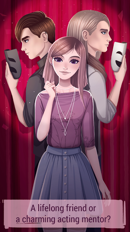 Android Love Story Games: Teenage Drama Screen 1