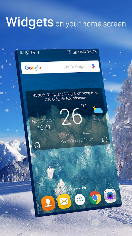 Android Weather radar Screen 7