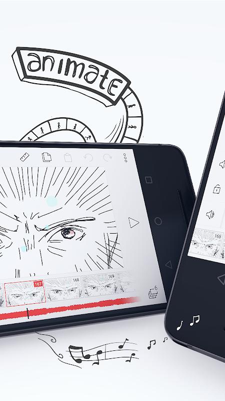 FlipaClip - Cartoon animation 2.2.7 Screen 1