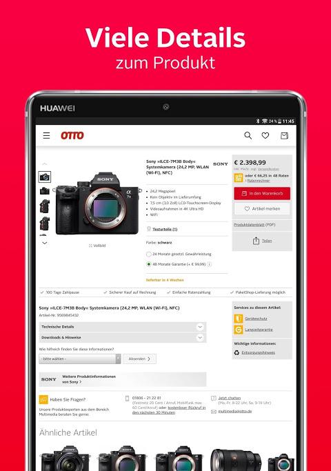 Android OTTO - Shopping für Mode & Wohnen Screen 7