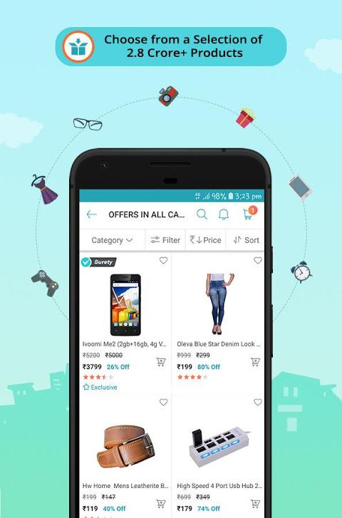 ShopClues: Online Shopping App 3.5.58 Screen 1