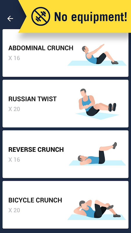 Six Pack in 30 Days - Abs Workout 1.0.10 Screen 3