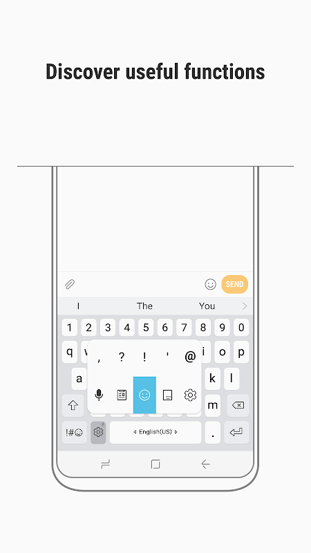 Samsung Keyboard 2.1.01.40 Screen 1