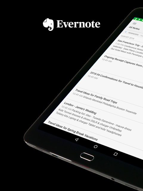 Android Evernote - stay organized. Screen 11