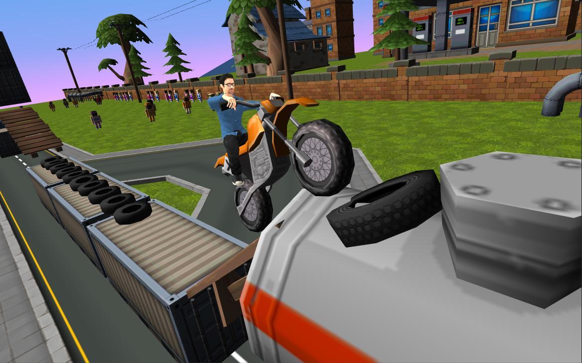 Dirt Bike - Cartoon Trial 1.7 Screen 6